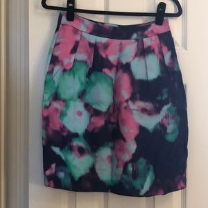 Kate spade water color pencil skirt size 0
